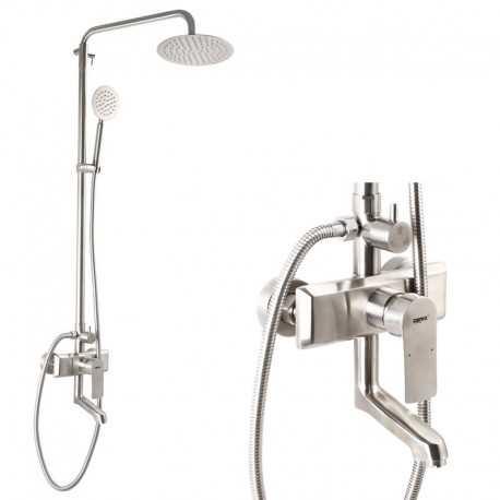 смеситель для ванны c тропическим душем ZERIX LR72403