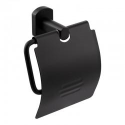 Держатель для туалетной бумаги с крышкой Q-tap Liberty BLM 1151