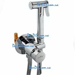 Настенный смеситель для гигиенического душа Hansberg Aura SL-04 Plus