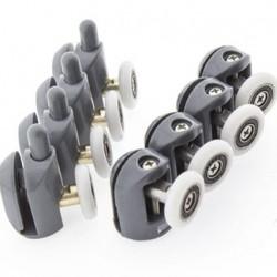 Комплект роликов для душевой кабины В-43B и В-43A  4 шт. вер/4 шт. низ