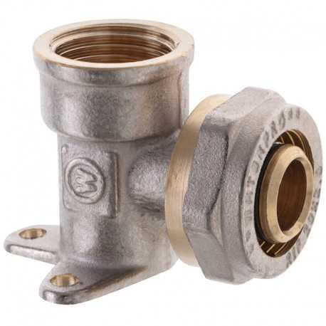 Угол монтажный для металлопласт трубы 20х1/2F внутренняя резьба WaterPro