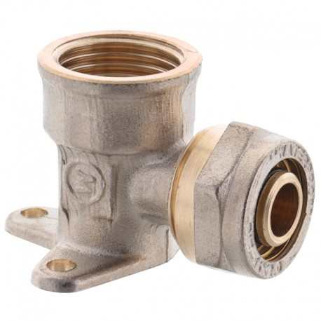 Угольник  монтажный  16х1/2 F с внутренней резьбой MASTER
