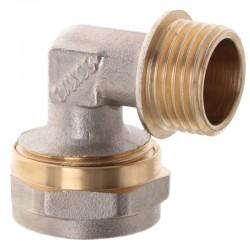 Угол для металлопластиковой трубы 20х1/2 M с наружной резьбой WaterPro