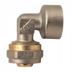 Угол для металлопластиковой трубы 20х1/2 F с внутренней резьбой WaterPro