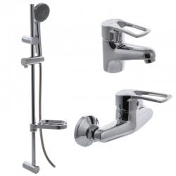 Комплект смесителей для ванной CRON HANSBERG SET-2