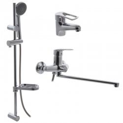 Комплект смесителей для ванной CRON HANSBERG SET-3
