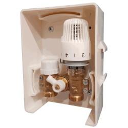 Унибокс для теплого пола (RTL) KR.3002 (вода) с термоголовкой Чехия