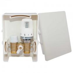 УУнибокс для теплого пола (RTL) (вода) с термоголовкой SF008 FORTE