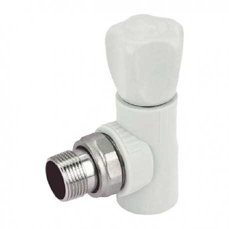 Ппр вентиль радиаторный угловой 20x1/2 K0167.PRO Kr Чехия PPR