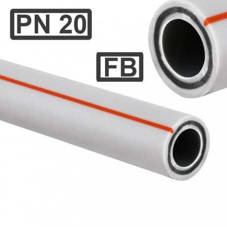 Ппр труба композит базальт 32x5,4 Kr Чехия для отопления, горячей воды