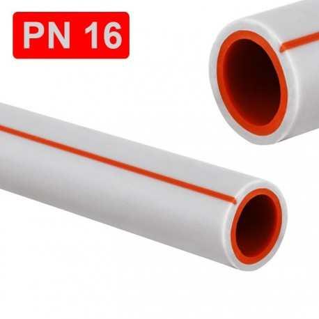 Пластиковая труба ппр PN16 32x4,4 Kr Чехия для холодной воды