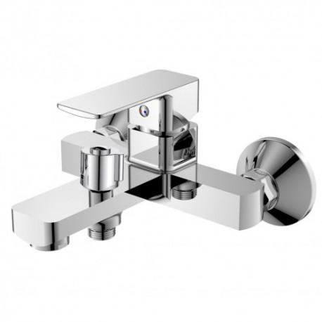 смеситель для ванной с душем Haiba KUBUS 009 Euro