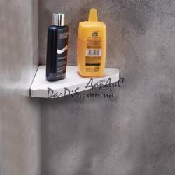Угловая полка для ванной комнаты ZERIX A8021