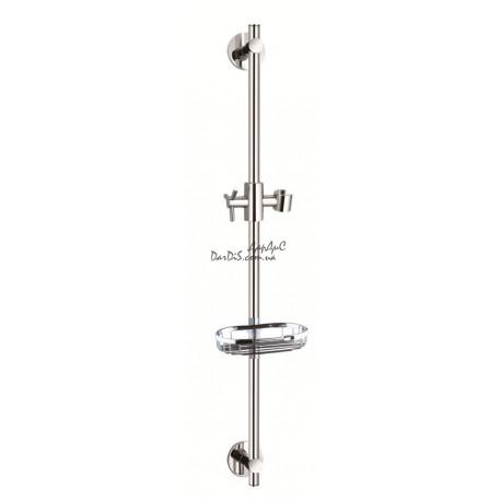 Стойка душевая с мыльницей в ванную комнату L1106 ретро