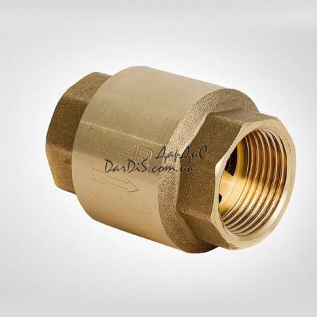 Обратный клапан 1-1/2 KOER KR.171 с латунным штоком