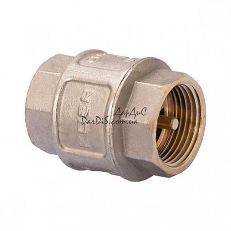 Обратный клапан 1 никелированный KOER KR.172.N