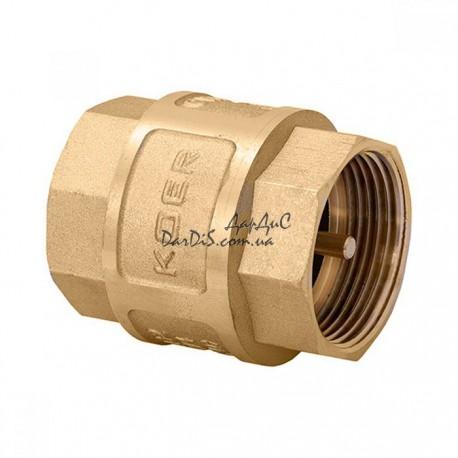 Обратный клапан 1-1/4 KOER KR.172 NEW с латунным штоком