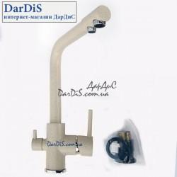 Смеситель для кухни с выходом для питьевой воды ZERIX LR4055K-3