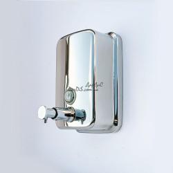 Диспенсер дозатор для жидкого мыла настенный металлический  ZERIX Z401