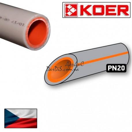 Полипропиленовая труба PN20 25 PPR KOER