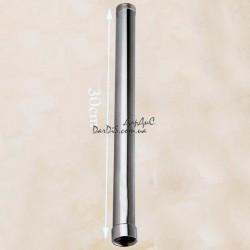 Удлинитель для душевой колонны ZERIX LR7505 30 см. хромированный.