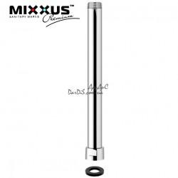Удлинитель для душевой стойки (колонны ) 30 см. MIXXUS хромированный.