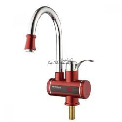 Проточный кран водонагреватель MIXXUS Electra 240-E Red красный