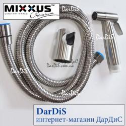 Набор для гигиенического душа из нержавеющей стали MIXXUS SET-001