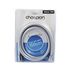 Силиконовый шланг для душа CHAMPION  SILVER F03 - 150 см