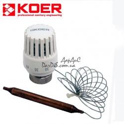 Термоголовка с выносным датчиком KOER KR.1333 M30x1.5