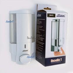 Диспенсер дозатор для жидкого мыла настенный STORM EXCELLA 1 WHITE