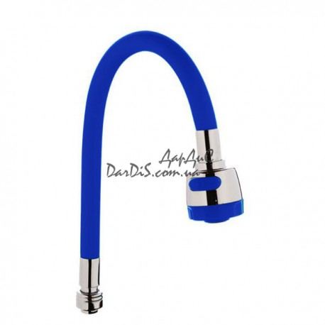 Гусак силиконовый SPS-1 BLUE синий