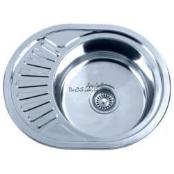 Врезная мойка для кухни  Zerix Z5745-08-180E satin