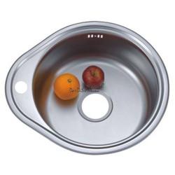 Мойка для кухни врезная ZERIX Z 4843-08-180 satin