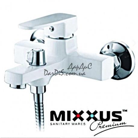 Mixxus Missouri 009 Euro White белый смеситель для ванны с душем