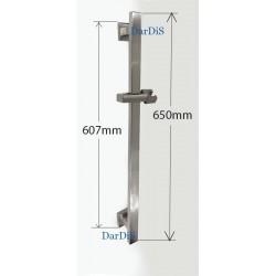 Стойка для душа Zerix 78002-3 из нержавеющей стали марки SUS304