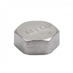"""Заглушка латунная никелированная 1"""" В KOER KF.P10F"""