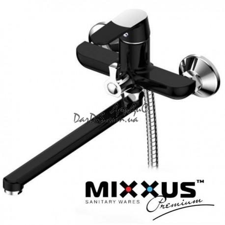 MIXXUS PREMIUM TIGER 006 EURO BLACK Черный смеситель для ванны с душем