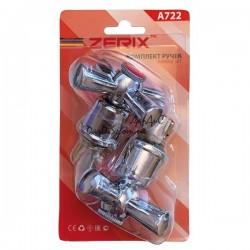 ZERIX HANDLES SET-A722 Ручки (с кранбуксами, пара) керамика