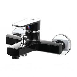 Смеситель для ванной с душем PLAMIX Oscar-009 Black