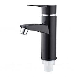 Смеситель для раковины PLAMIX Sergio-001 Black пластик