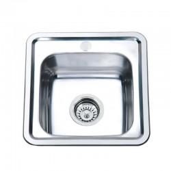 Мойка для кухни Zerix Z3838-06-160E satin
