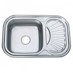 Врезная мойка для кухни Zerix Z7549-08-180D decor