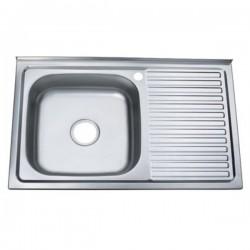 Мойка для кухни Zerix Z8050L-04-160E satin