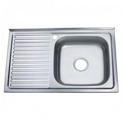 Мойка для кухни Zerix Z8050R-06-160E satin