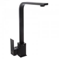 MIXXUS KUB-011 BLACK Черный смеситель для кухни на мойку