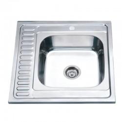 Мойка для кухни Zerix Z6060R-04-160E satin