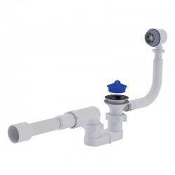 Сифон для ванны Ани Пласт (E055-Е056), с пластиковым переливом
