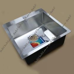 Врезная мойка для кухни MIXXUS MX5050-200x1 satin