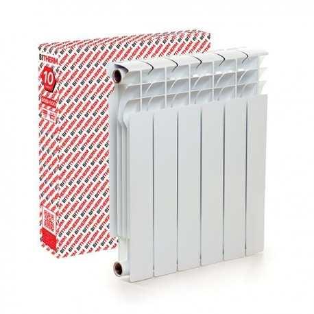 Биметаллический радиатор Bitherm 80  Bimetal-500 Польша 6-секций